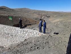پروژه آبخیزداری حوزه شهرک صنعتی شهرستان سمنان آغاز شد