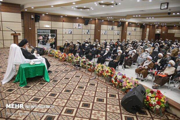 سیزدهمین همایش تجلیل از برگزیدگان یزدی حوزه های علمیه