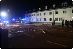 وقوع انفجار در دفتر صلیب سرخ در آلمان/ احتمال انفجارهای بیشتر