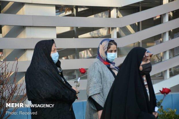 اجرای سرود خیابانی در تبریز