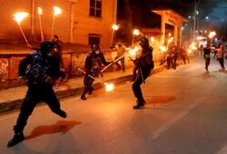 درگیری پلیس نپال با معترضان
