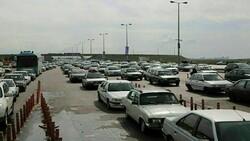 ترافیک سنگین در محور بومهن - جاجرود