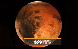صدای وزش باد در سیاره مریخ
