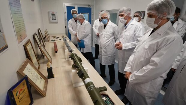 Iran opens production line of advanced man-portable missiles