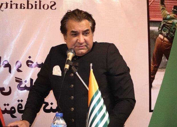 تہران میں پاکستان کے سفارتخانہ میں یوم یکجہتی کشمیرکی مناسبت سے تقریب منعقد