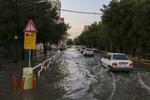 ورود سامانه بارشی از غرب کشور/وزش باد در جنوب تهران