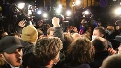 اعتراض مردم گرجستان به محدودیتهای کرونایی