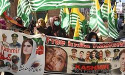 راهپیمایی روز همبستگی با کشمیر در پاکستان