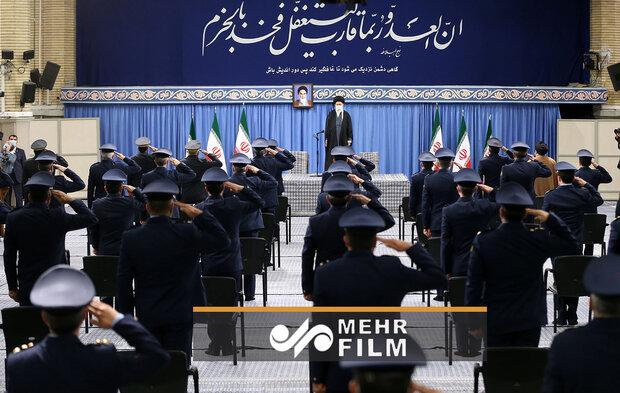 VIDEO: IRIAF commanders meet Leader