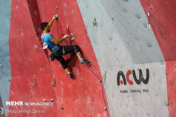 Indoor rock climbing competitions in W. Azarbaijan
