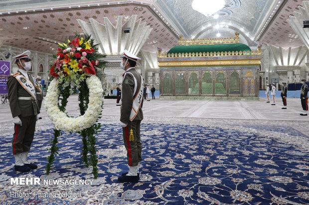 مراسم تجدید میثاق شهردار و اعضای شورای شهر تهران با آرمان های امام (ره)
