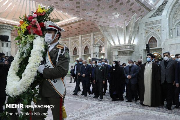 Tehran Mayor renews allegiance with Imam Khomeini ideals
