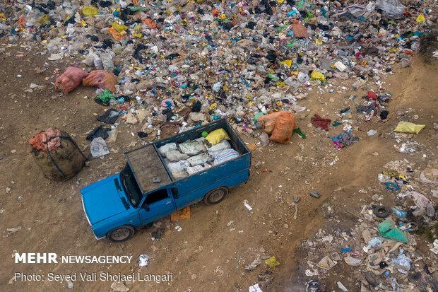 دپوی زباله بیخ گوش زباله سوزها/مدیریت پسماند روی دوش زباله گردها