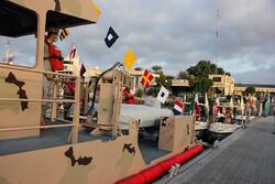 4 vessels delivered to Hormozgan border guard fleet