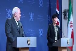 Iranian, Norwegian FMs discuss JCPOA in phone call