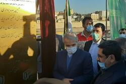 کلنگزنی فاز دوم دیواره ساحلی پلدختر/ افتتاح ۲۰۰۰ واحد مسکن محرومان