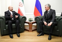 Iranian Parl. speaker visiting Russia's State Duma