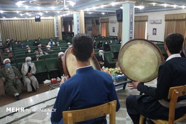 برگزاری همایش رهروان مکتب حاج قاسم سلیمانی و دهه فجر در سنندج