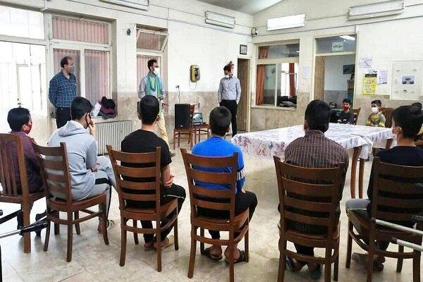 برگزاری ویژه برنامه «انقلاب و کودکان» در مرکز بهزیستی کرمانشاه