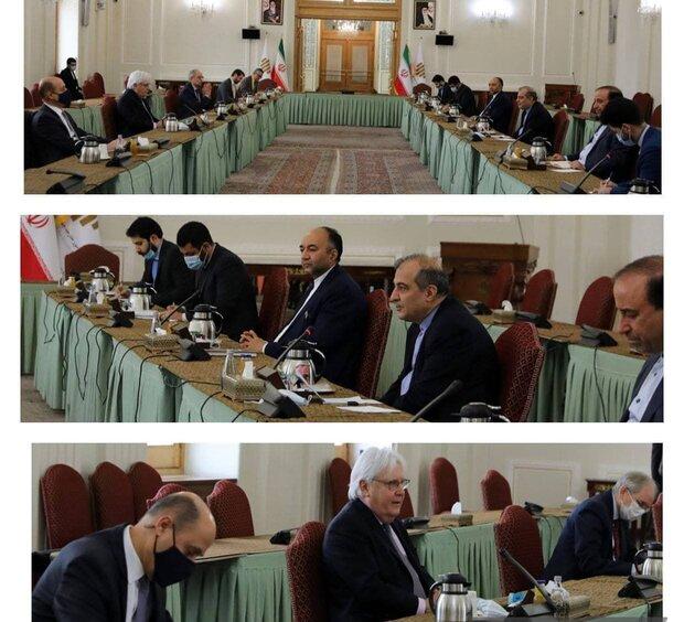 محادثات بين كبير مستشاري الخارجية والمبعوث الاممي الخاص لليمن