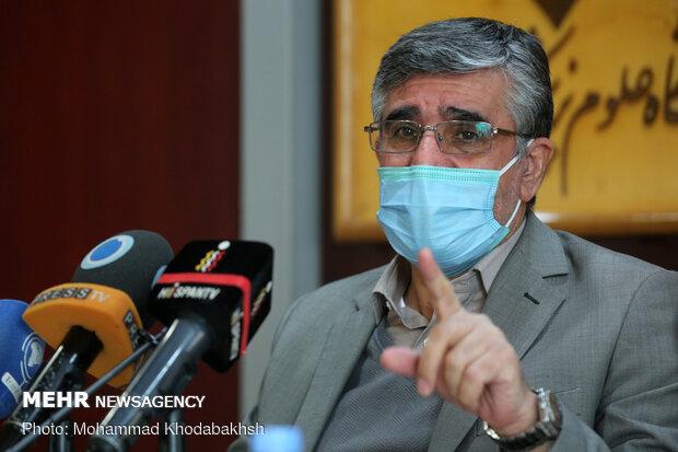نشست خبری رئیس دانشگاه علوم پزشکی بقیهالله