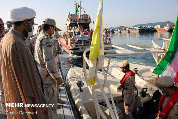 4 vessels delivered to Hormozgan border fleet