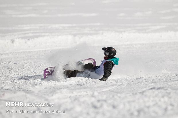 مسابقات اسکی به مناسبت دهه فجر