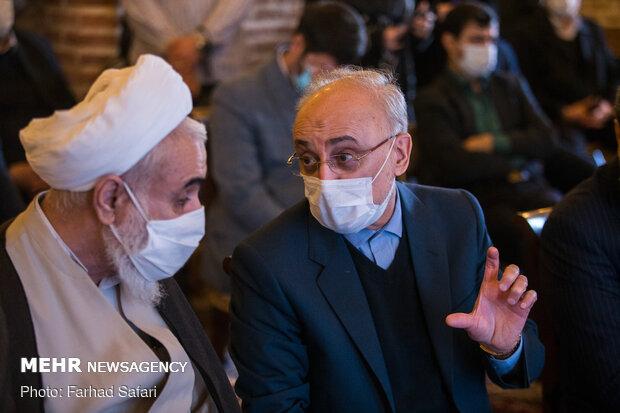 افتتاحیه نمایشگاه دائمی دستاوردهای سازمان انرژی اتمی ایران