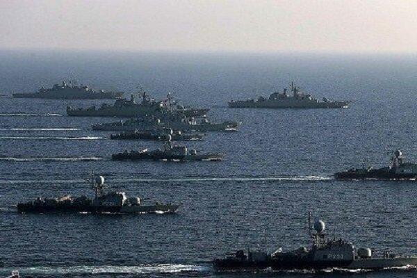 مناورات بحرية مشتركة بين إيران وروسيا والصين في المحيط الهندي