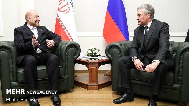 Iran's Parl. speaker attends Russia's State Duma
