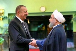 Aliyev congrats Rouhani on Islamic Revolution victory anniv.