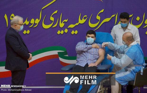 İran'da ilk aşı Sağlık Bakanı'nın oğluna yapıldı