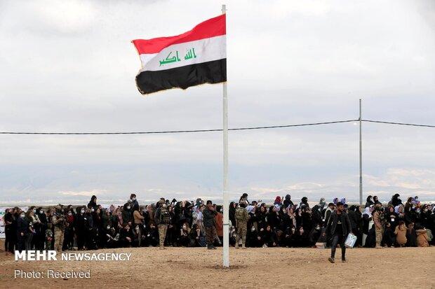 خاکسپاری پیکر قربانیان ایزدی داعش در عراق