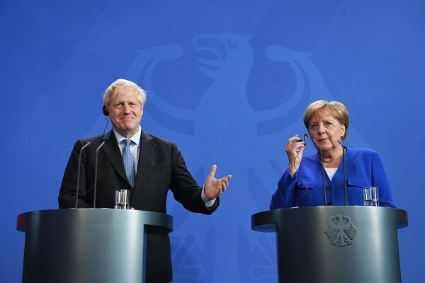 British PM, German Chancellor hold talks on JCPOA