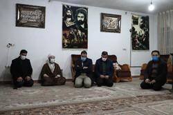 IDO head visits Fatemiyoun martyrs' families