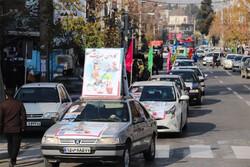 راهپیمایی خودرویی و موتوری ۲۲ بهمن در استان تهران برگزار شد
