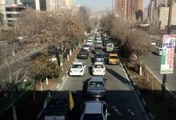 راهپیمایی موتوری و خودرویی ۲۲ بهمن در تبریز آغاز شد