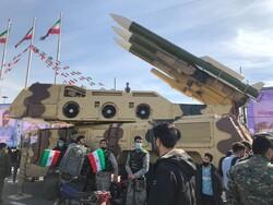 سامانه پدافندی «سوم خرداد» در راهپیمایی ۲۲ بهمن به نمایش درآمد
