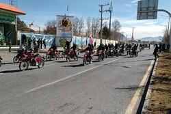 برگزاری مراسم راهپیمایی خودرویی و موتوری در شهرکرد