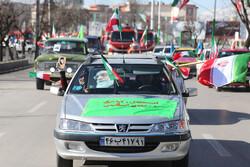 جلوه هایی باشکوه حضور مردم در راهپیمایی متفاوت در زنجان