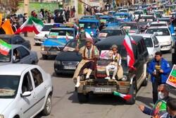 راهپیمایی ۲۲ بهمن در اقصی نقاط کهگیلویه و بویراحمد برگزار شد
