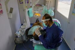 ارائه ۱۵۰ خدمت دندانپزشکی به نیازمندان حاشیه نشین سنندج