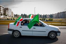 جشن خیابانی یوم الله ۲۲ بهمن در تهران