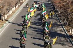 تبریز میں انقلاب اسلامی کی سالگرہ کی مناسبت سے موٹر سائیکل سواروں کی شاندار ریلی