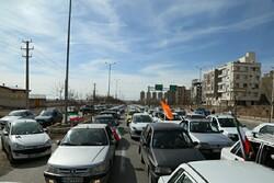 حضور با شکوه قزوینی ها در جشن پیروزی انقلاب اسلامی