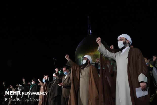 جشن پیروزی انقلاب در فشافویه
