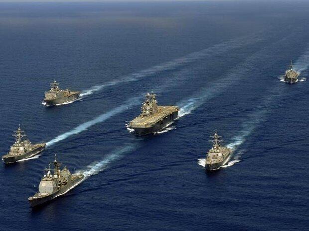امریکی جنگی بیڑوں کی چینی سمندری حدود کے نزدیک بڑی نقل و حرکت