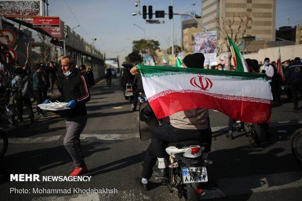 راهپیمایی یوم الله ۲۲ بهمن ۹۹