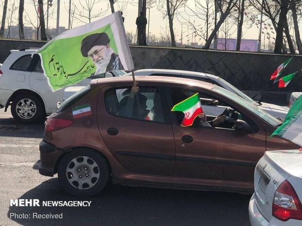 Tahran'da İslam Devrimi Zaferi Etkinliği
