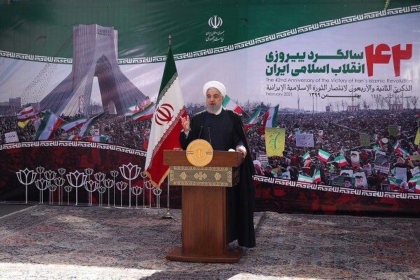 Ruhani: İran halkı ekonomik savaşı kazanacaktır